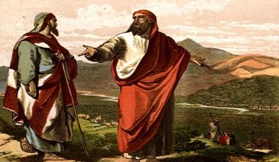 Ábrahám és Lót