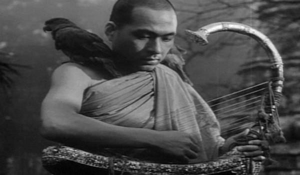 A Burmai hárfa