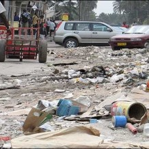 Kinshasa utcáin